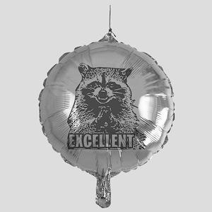 Excellent Raccoon Mylar Balloon