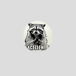 Excellent Raccoon Mini Button