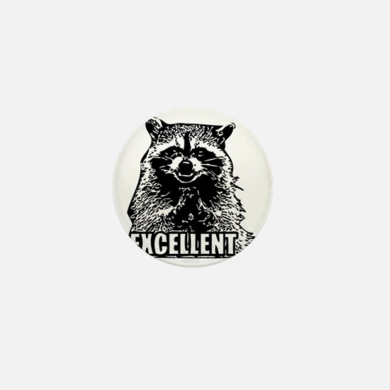 Excellent Raccoon Mini Button
