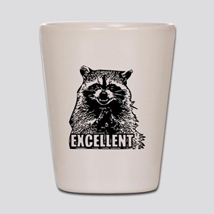 Excellent Raccoon Shot Glass