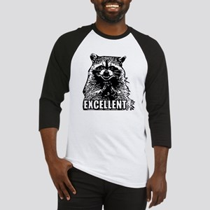 Excellent Raccoon Baseball Jersey