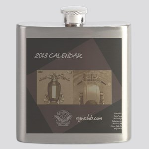 2013 NGWCLUB CALENDAR COVER Flask