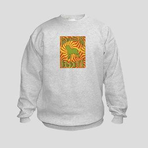 Groovy Bullmastiffs Kids Sweatshirt