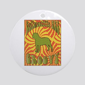 Groovy Bullmastiffs Ornament (Round)