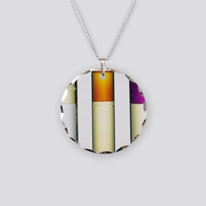 Halogen solutions Necklace Circle Charm
