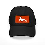 Mud Flap Bear Black Cap