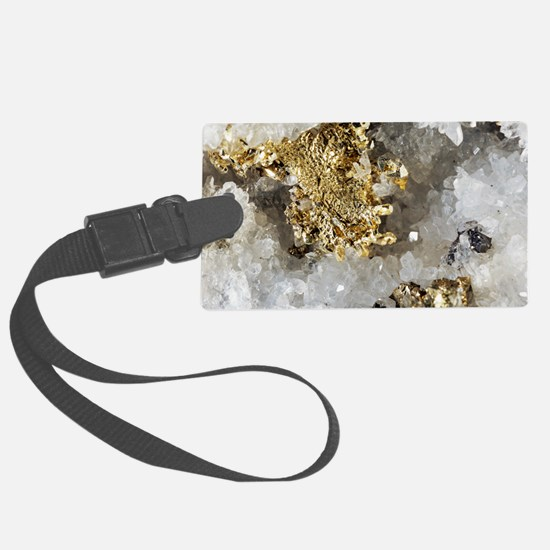 Native gold Luggage Tag