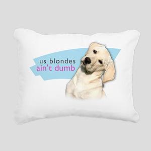 blondes Rectangular Canvas Pillow