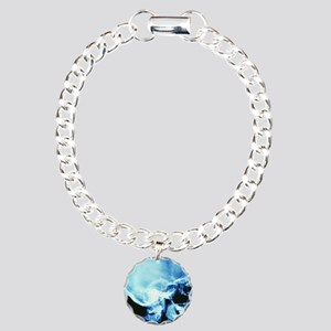 Skull X-ray Charm Bracelet, One Charm
