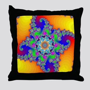 Mandelbrot fractal Throw Pillow