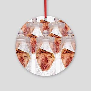 Spare hearts Round Ornament
