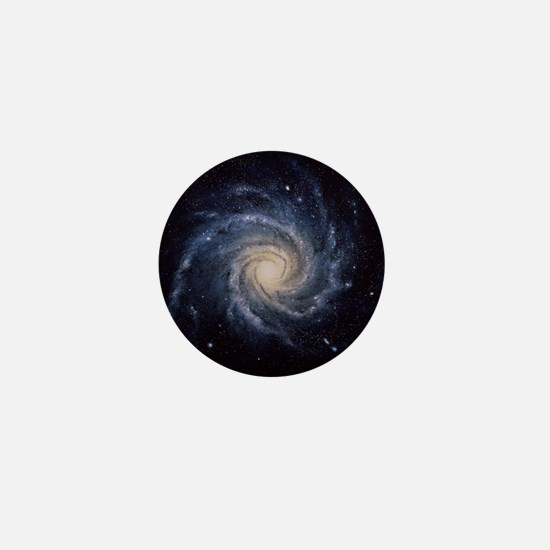 Spiral galaxy M74 Mini Button