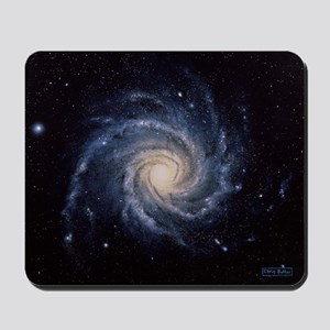 Spiral galaxy M74 Mousepad