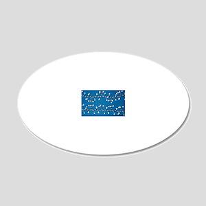 Rubber and gutta-percha mole 20x12 Oval Wall Decal