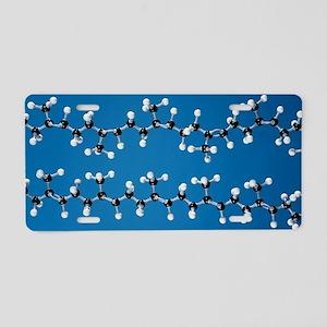 Rubber and gutta-percha mol Aluminum License Plate