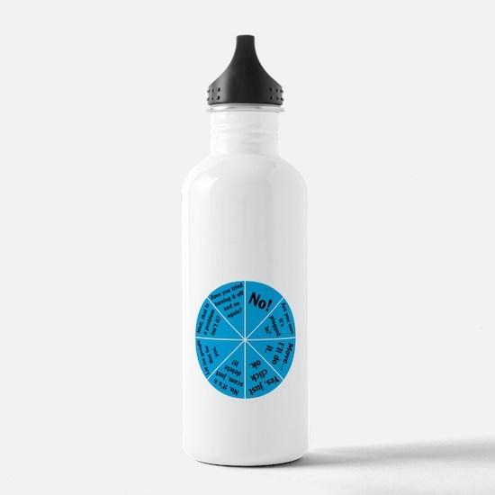 IT Wheel of Answers. Water Bottle