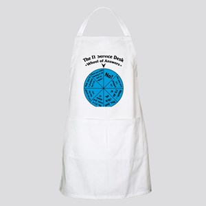IT Wheel of Answers Apron