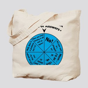IT Wheel of Answers Tote Bag
