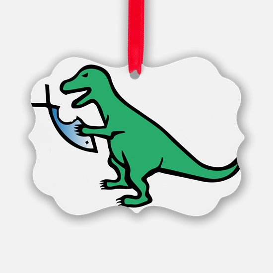 Atheism and T-Rex Ornament