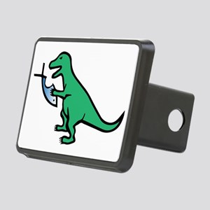Atheism and T-Rex Rectangular Hitch Cover