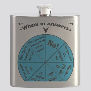 IT Wheel of Answers Flask