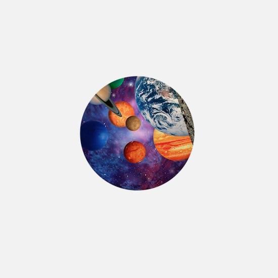 Solar system Mini Button