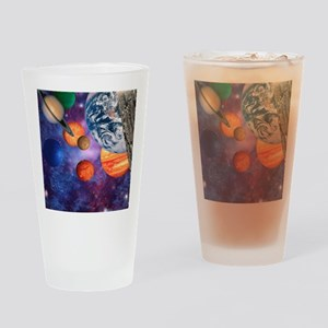 Solar system Drinking Glass