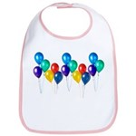 Party Balloons Bib