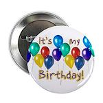 """It's My Birthday 2.25"""" Button"""
