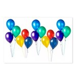Party Balloons Postcards (Package of 8)