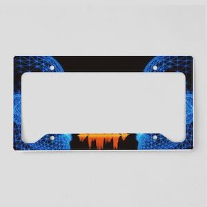 Speech License Plate Holder