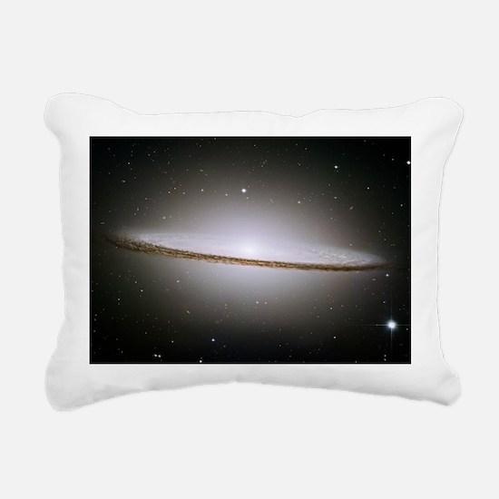 Sombrero galaxy (M104),  Rectangular Canvas Pillow