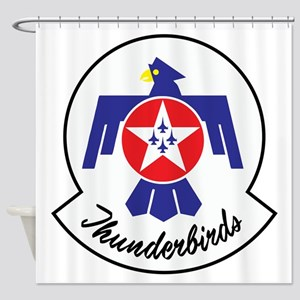 U.S. Air Force Thunderbirds Shower Curtain