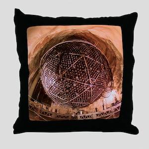 Sudbury Neutrino Observatory (SNO) Throw Pillow