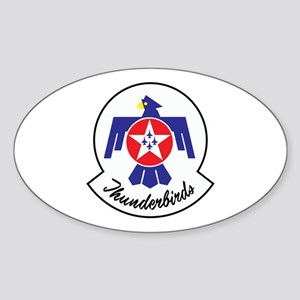 U.S. Air Force Thunderbirds Sticker (Oval)