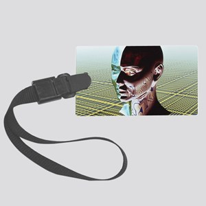 Split personality Large Luggage Tag