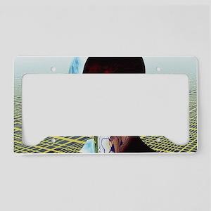 Split personality License Plate Holder
