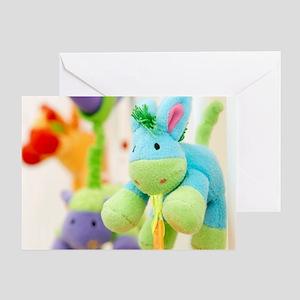 Stuffed toys Greeting Card