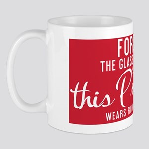 small print  Forget the glass slippers  Mug