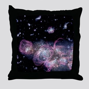 Star birth in the early universe Throw Pillow