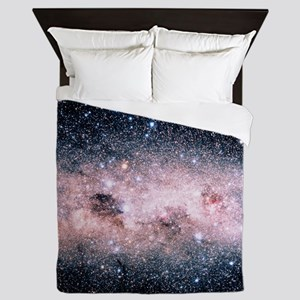 Starfield centred on the Southern Cros Queen Duvet