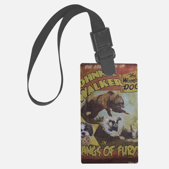 Fangs of Fury Luggage Tag