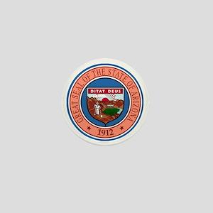Great Seal of Arizona Mini Button