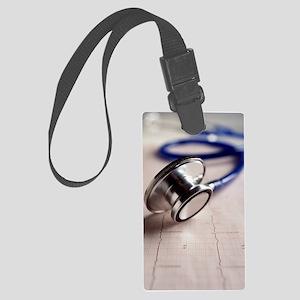 Stethoscope Large Luggage Tag