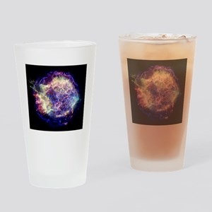 Supernova remnant Cassiopeia A, X-r Drinking Glass