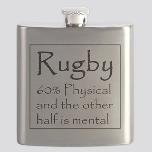 Rugby: 60% Physical Flask
