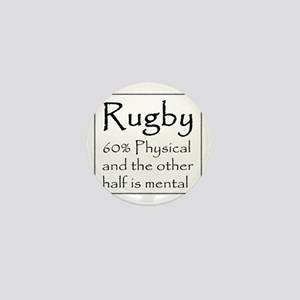 Rugby: 60% Physical Mini Button