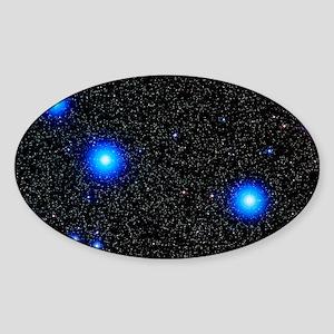 Stars Sticker (Oval)