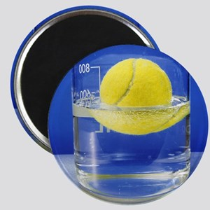 Tennis ball floating in water Magnet