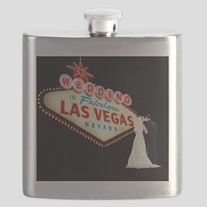 Wedding In Las Vegas Flask